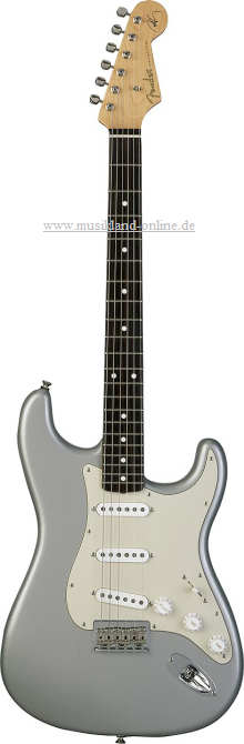 Fender Robert Cray Signature Stratocaster Inca Silver