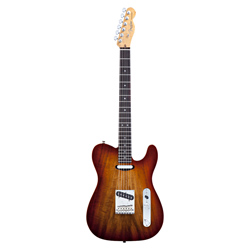 Fender Select Carved Koa Top Telecaster RW SEB
