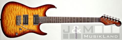Fender Showmaster QMT - Tobacco Sunburst