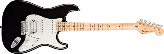Fender Standard Stratocaster HSS MN BLK