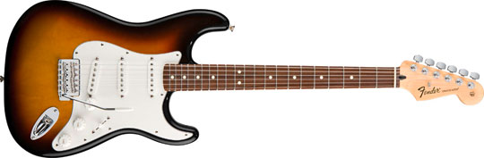 Fender Standard Stratocaster PF BSB Mexico Upgrade