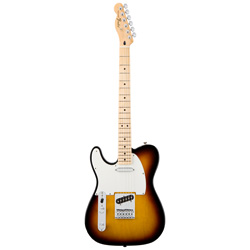 Fender Standard Telecaster MN BSB lefthand Mexico Upgrade