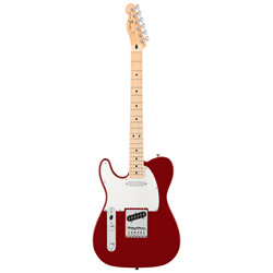 Fender Standard Telecaster MN CAR lefthand Mexico Upgrade