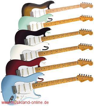 Fender 50 Classic Stratocaster MN BK