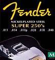 Fender 250RH Saiten 010-052