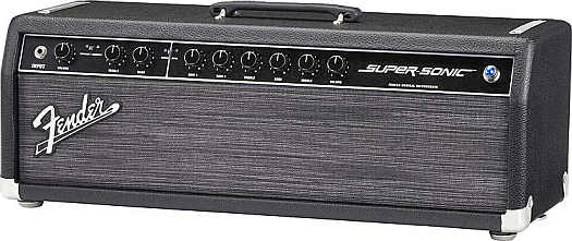 Fender Super Sonic Head black