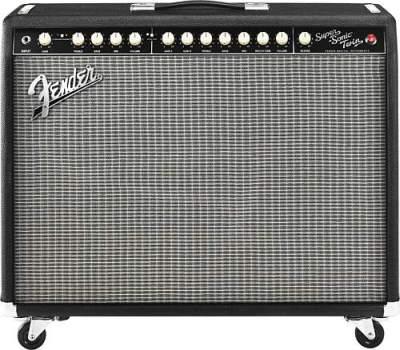 Fender Super-Sonic Twin Combo Black/Silver