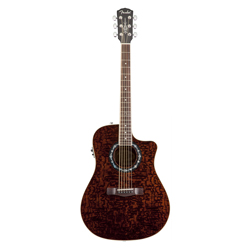 Fender T-Bucket 300CE Tranaparent Dark Brown