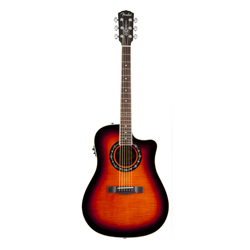 Fender T-Bucket 300CE Westerngitarre 3-Color Sunburst