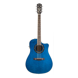Fender T-Bucket 300CE Westerngitarre Transparent Blue