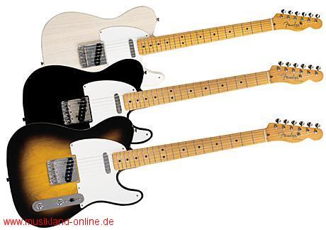 Fender Telecaster ´50 Classic MN-Black