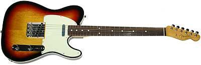 Fender 62 Custom American Vintage 3TS Telecaster