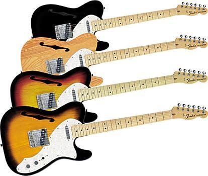 Fender Telecaster ´69 Thinline MN-3TS