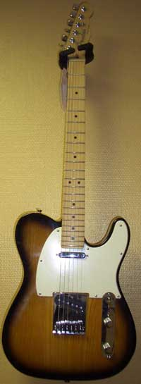 Fender Telecaster American Ash MN 2TSB