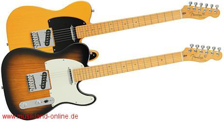 Fender Telecaster American Deluxe Ash MN 2-CSB