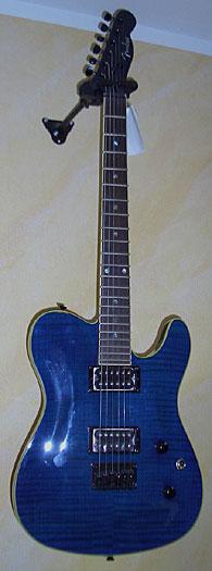 Fender Telecaster Custom FMT - Blue Trans.