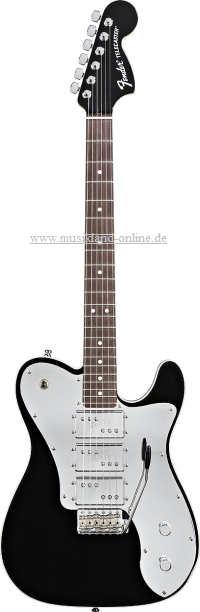 Fender Telecaster John V J5 Triple Deluxe Black