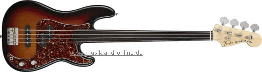 Fender Tony Franklin P-Bass Fretless 3TS