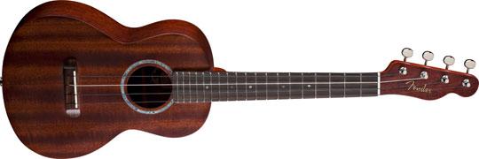Fender Ukulele Pa'ina mit Electronic