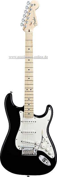Fender VG Stratocaster MN BK