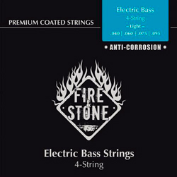 Fire&Stone E-Bass Saiten 40-95 Light