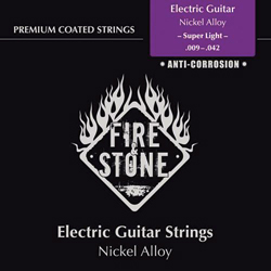 Fire&Stone E-Gitarren Saiten 09-42 Super Light