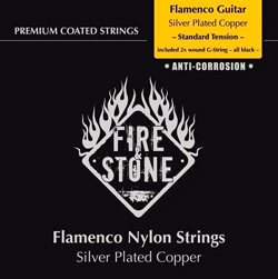 Fire&Stone Flamenco Gitarren Saiten Standard Tension
