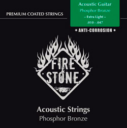 Fire&Stone Westerngitarren Saiten 11-47 Extra Light