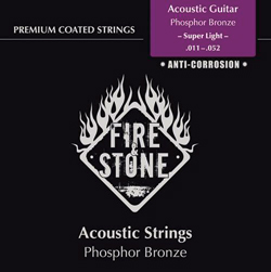 Fire&Stone Westerngitarren Saiten 11-52 Super Light