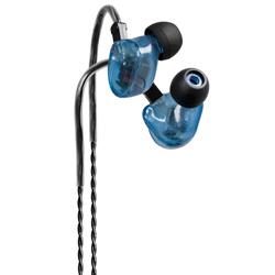 Fischer Amp In Ear Hörer FA-3 E XB blaugrau transparent