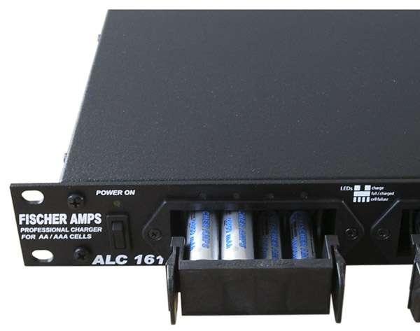 Fischer Amps ALC-161 Akku Ladegerät für AA / AAA