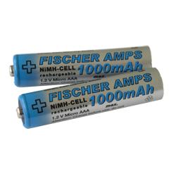 Fischer Amps NiMH Mignon Micro AAA Akku 1000 mAh