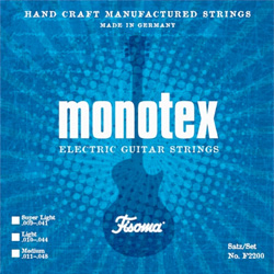 Fisoma F2200 monotex E-Gitarren Saiten 010-044