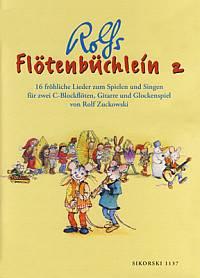 Flötenbüchlein 2 - Zuckowski, Rolf