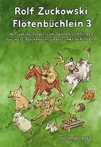 Flötenbüchlein 3 - Zuckowski, Rolf