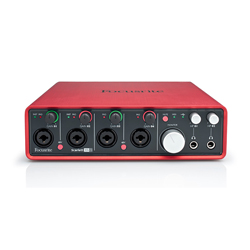 Focusrite Scarlett 18i8 USB-2.0 Audio-Interface