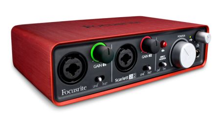 Focusrite Scarlett 2i2 USB2 Interface