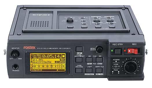 Fostex FR-2 Memory Card Recorder