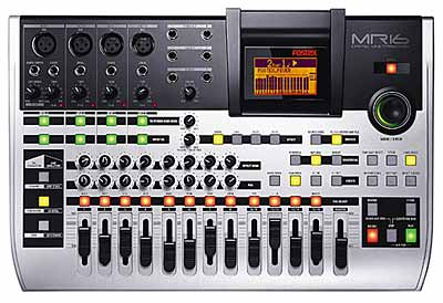 Fostex MR-16 HD Recorder