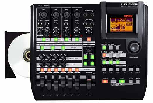 Fostex MR-8HD/CD Recorder