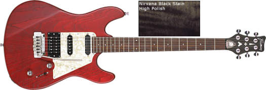 Framus Diablo Pro Nirvana Black Oil Finish
