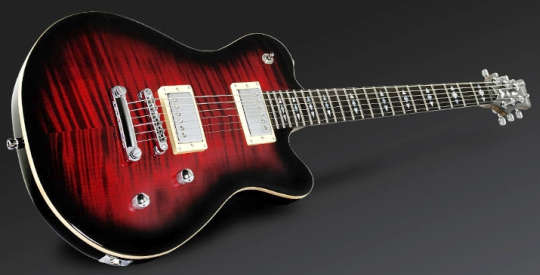 Framus Panthera Custom Burgundy Blackburst