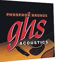 GHS PB S 325 Westerngitarre Saiten Satz Phosphor Bronze