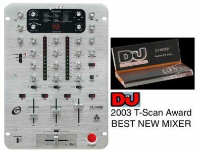 Gemini FX-7000 DJ Mixer mit Effekten