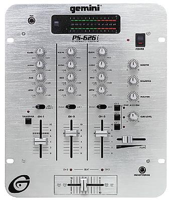 Gemini PS-626i DJ Mixer