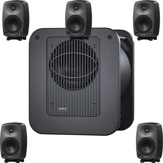 Genelec 5.1 Surround-Anlage 8030A/7060B