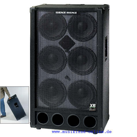 Genz Benz GB 610T XB2 Bass Box 4 Ohm