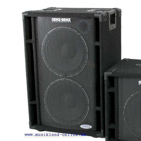 Genz Benz NEOX-212 T Bass Box