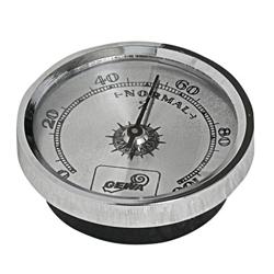 Hygrometer Silber 45mm