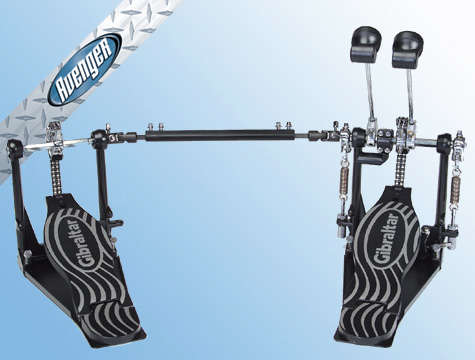 Gibraltar Doppel-Fußmaschine / Pedal  6611DB